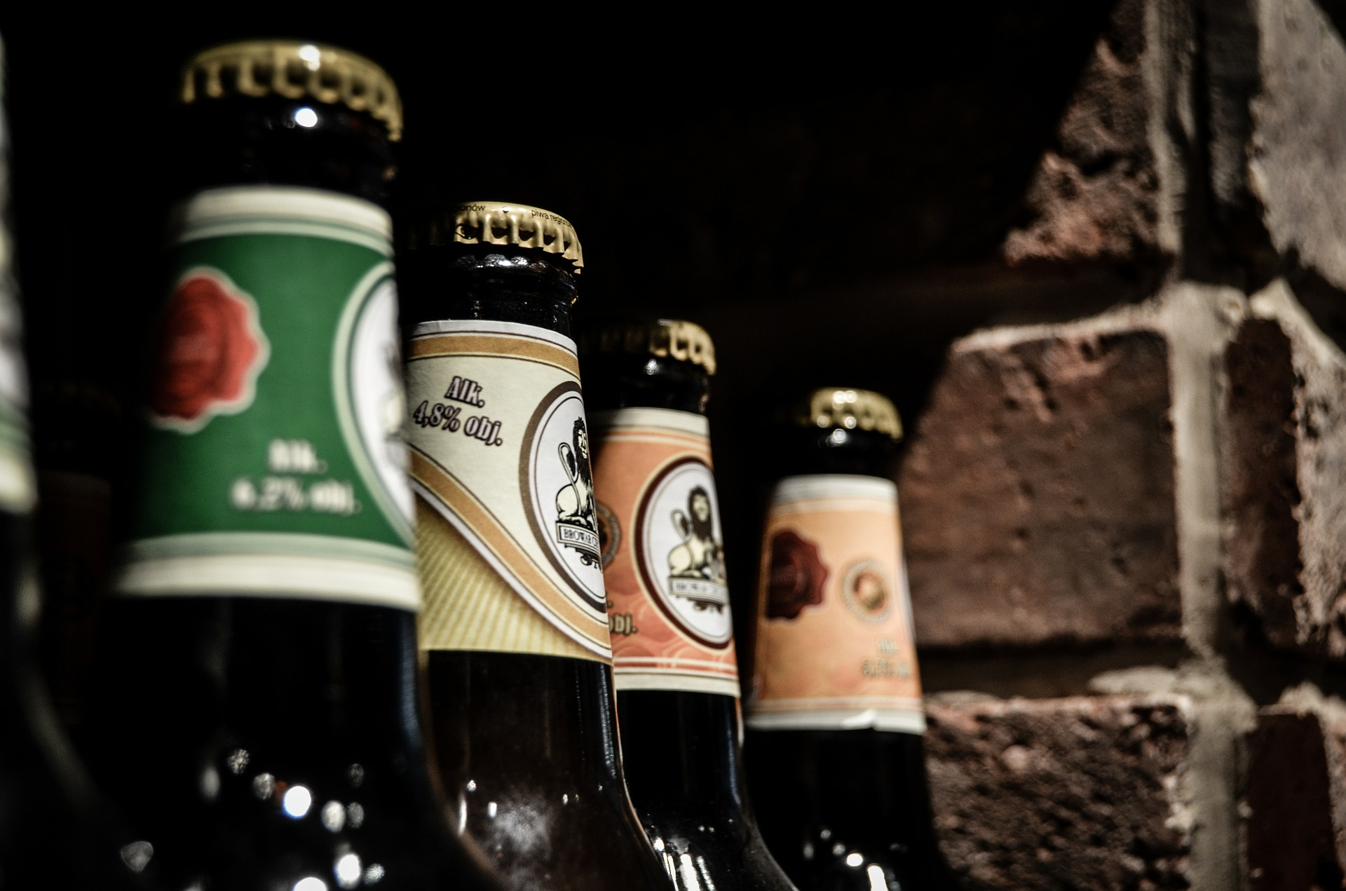 A nice selection of Austrian and German beers await for you at Cafe Katja.